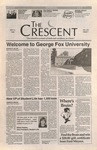 """The Crescent"" Student Newspaper, September 6, 1996 by George Fox University Archives"