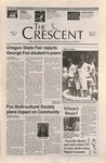 """The Crescent"" Student Newspaper, September 13, 1996 by George Fox University Archives"