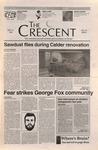 """The Crescent"" Student Newspaper, September 27, 1996"