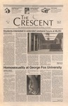 """The Crescent"" Student Newspaper, October 11, 1996 by George Fox University Archives"