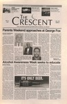 """The Crescent"" Student Newspaper, November 8, 1996 by George Fox University Archives"