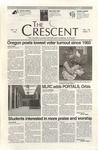 """The Crescent"" Student Newspaper, November 22, 1996 by George Fox University Archives"