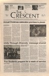 """The Crescent"" Student Newspaper, December 6, 1996 by George Fox University Archives"