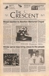 """The Crescent"" Student Newspaper, January 24, 1997"