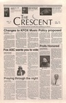 """The Crescent"" Student Newspaper, March 14, 1997 by George Fox University Archives"