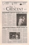 """The Crescent"" Student Newspaper, April 16, 1997 by George Fox University Archives"
