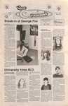 """The Crescent"" Student Newspaper, February 2, 1998 by George Fox University Archives"