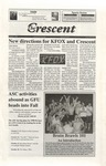 """The Crescent"" Student Newspaper, October 2, 1998"
