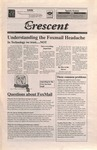 """The Crescent"" Student Newspaper, October 8, 1998"