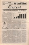 """""""The Crescent"""" Student Newspaper, January 22, 1999 by George Fox University Archives"""