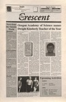 """The Crescent"" Student Newspaper, March 12, 1999"