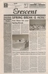"""""""The Crescent"""" Student Newspaper, March 19, 1999 by George Fox University Archives"""