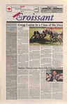 """The Crescent"" Student Newspaper, April 1, 1999, prank by George Fox University Archives"