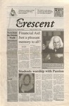 """The Crescent"" Student Newspaper, November 9, 1999"