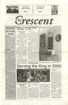 """The Crescent"" Student Newspaper, January 28, 2000 by George Fox University Archives"