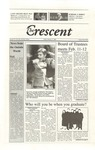 """The Crescent"" Student Newspaper, February 11, 2000"