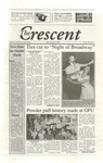 """The Crescent"" Student Newspaper, February 25, 2015"