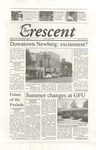 """The Crescent"" Student Newspaper, April 21, 2000 by George Fox University Archives"