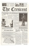 """The Crescent"" Student Newspaper, October 13, 2000"