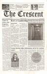"""The Crescent"" Student Newspaper, January 19, 2001"