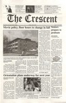 """The Crescent"" Student Newspaper, April 20, 2001"