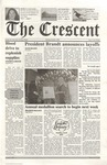 """The Crescent"" Student Newspaper, October 4, 2001"