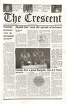 """The Crescent"" Student Newspaper, November 2, 2001 by George Fox University Archives"