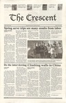 """The Crescent"" Student Newspaper, April 9, 2004"