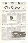 """The Crescent"" Student Newspaper, April 25, 2004"