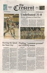"""The Crescent"" Student Newspaper, March 14, 2012 by George Fox University Archives"