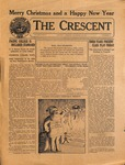 """The Crescent"" Student Newspaper, December 23, 1925"