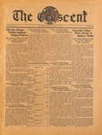 """The Crescent"" Student Newspaper, January 22, 1935"