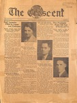 """The Crescent"" Student Newspaper, October 8, 1935"