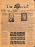 """The Crescent"" Student Newspaper, June 6, 1936"