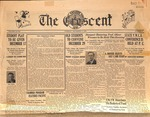 """The Crescent"" Student Newspaper, December 8, 1936"