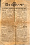 """The Crescent"" Student Newspaper, November 1, 1938"