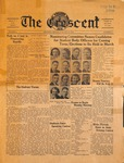 """The Crescent"" Student Newspaper, January 24, 1939"