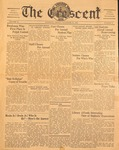 """The Crescent"" Student Newspaper, November 21, 1939"