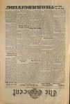 """The Crescent"" Student Newspaper, November 24, 1939 by George Fox University Archives"