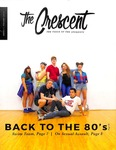 """The Crescent"" Student Newspaper, September 29, 2016"