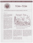 Spring 1990 Tom-Tom Announcements from Camp Tilikum