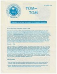 Summer 1986 Camp Tilikum Tom-Tom Announcements and Info