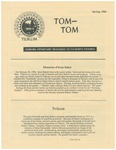 Tom-Tom Announcements and Updates in Spring of 1986