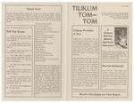 Tom-Tom Announcements and Updates in Fall of 1972