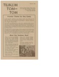 Announcements and Updates from Tom-Tom 1976 Summer Edition from Camp Tilikum