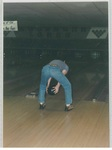 Man Bowling at the WMBA Annual City Tournament by George Fox University Archives
