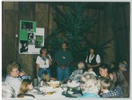 People Talking at Camp Tilikum by George Fox University Archives