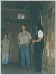 Man Speaking at Camp Tilikum by George Fox University Archives