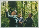 People at the Ropes Course at Camp Tilikum by George Fox University Archives