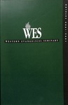 Western Evangelical Seminary Catalog 1993-1994 by Western Evangelical Seminary
